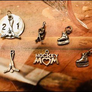 """Jewelry - 🏒 """"Hockey Mom"""" charms!"""